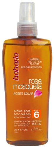 babaria Rosa Mosqueta Sonnenöl LSF6 200ml