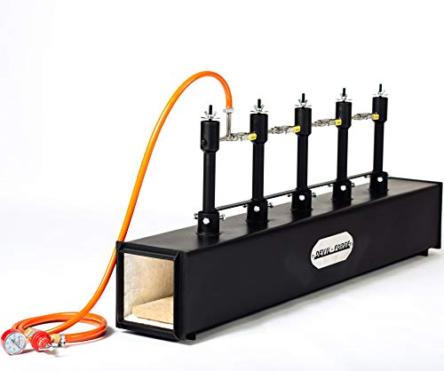 GAS-SCHMIEDE   Gasschmiede mit 5 Brenner mit Kugelventil   Model: DFPROF5   mehr Hitze bei weniger Verbrauch   Hufschmiede Messerschmiede Schmiede