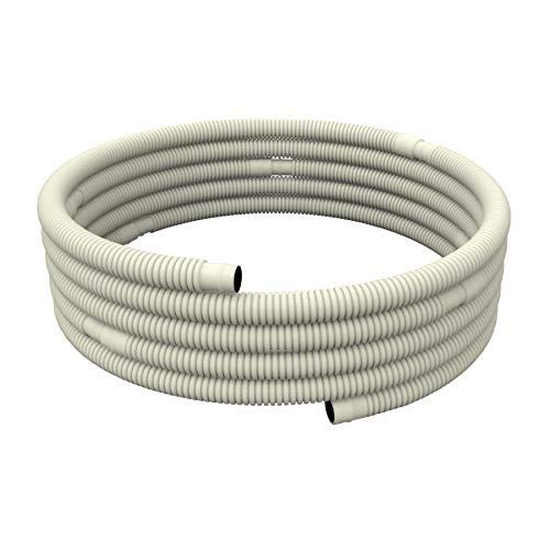 Pearwow Universal Flexible AC Water Drain Hose for Ductless Mini-Split Air Conditioner Heat Pump System (26ft)