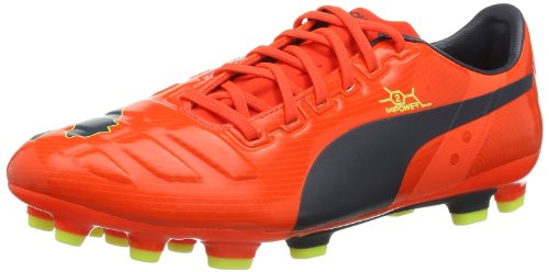 PUMA Evopower 2 AG Men's Soccer Cleats-Orange-10