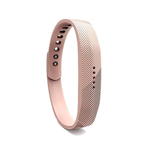 shuxun Adatto per Cinturino di Ricambio per Orologio Smart Fitbit Flex2, Cinturino Fitbit Flex 2, Cinturino in Silicone Morbido S N-1