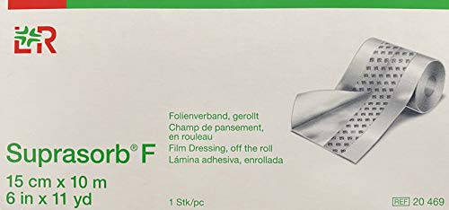 Suprasorb F 15 cm x 10 m Folienverband | Wundverband | Tattoofolie