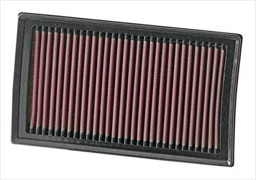 K&N 33-2927 Motorluftfilter: Hochleistung, Prämie, Abwaschbar, Ersatzfilter, Erhöhte Leistung, 2003-2018 (Evalia, NV200, Juke, Note, Micra, Modus, Clio)