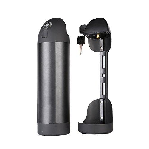 Batería de iones de litio con celdas de Samsung 36v 10.4Ah para botellas de agua pedelec e-bike Batería de repuesto con cargador