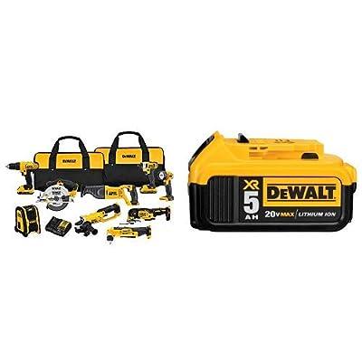 DEWALT DCK940D2 20V MAX Lithium Ion 9-Tool Combo Kit