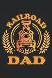 Notebook: ferrovia, leader della locomotiva, ferrovia del modello,: 120 pagine a righe: taccuino, album da disegno, diario, elenco delle cose da fare, ... pianificare, organizzare e prendere appunti.