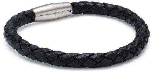 Boccia Damen-Armband Leder Schw. 0347-0121