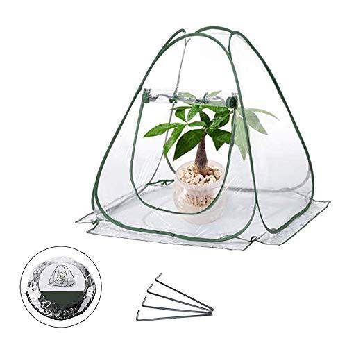 グリーンカバーフラワーハウスガーデンハウスガーデン温室ビニールハウス植物保温ほご園芸ガーデニング温室植物を寒さや霜カラスから守る(透明)