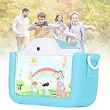 Zwinner Pequeña cámara, 48MP multifunción de la Pantalla táctil de la cámara IPS de los niños...