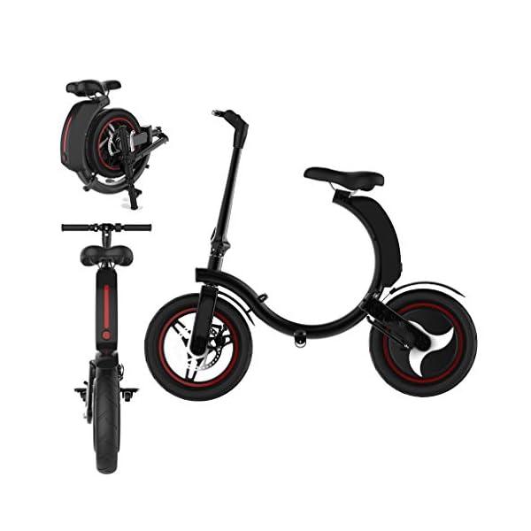 41ZWILwo4hL. SS600  - Ydshyth Faltbares E-Bike, 14 Zoll Große Kapazität Pedelec Mit Lithium-Akku Und Ladegerät Mit 48V 7.8Ah Lithium-Akku, 450W Motor 32Km/H Für Herren Damen
