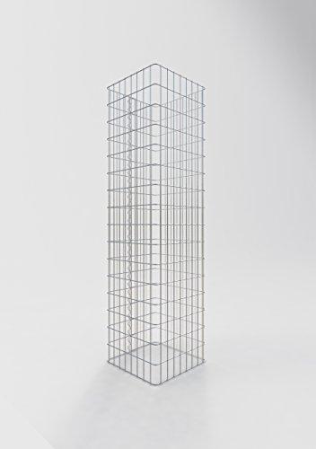 Gabiona   Gavión rectangular   jaula de malla para rellenar con piedra   resistente a la intemperie   con malla de alambre especial   fabricado en Alemania