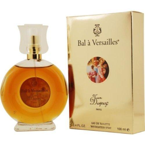 Jean Desprez Bal A Versailles Eau de Toilette Spray, 3.4 Ounce