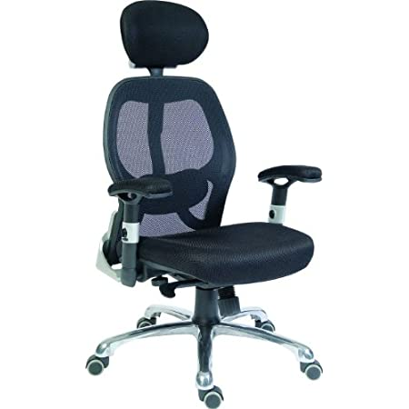 Teknik Cobham Luxury Mesh Back Executive Chair Home Office Amazon Co Uk Kitchen Home
