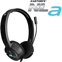 Turtle Beach Ear Force NLa Gaming Headset - Black - Nintendo Wii U