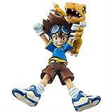 10 Cm Digimoning Adventure Yagami Taichi Agumon Ishida Yamato Gabumon PVC figura...