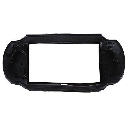 SODIAL(R) NUOVO custodia in silicone nero per Sony PS Vita PSV