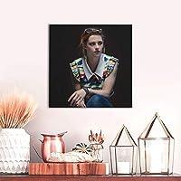 アートパネルクリステンスチュワート (2) モダンポスター フレームレス インテリア 絵画 壁掛け 部屋飾りおしゃれ 装飾 印刷絵画 額縁なし 壁紙 ポスター モダン
