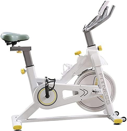 NBLD Bicicleta giratoria Bicicleta de Ejercicio para Interiores, Gimnasio en casa Ejercicio aeróbico Bicicleta giratoria, Resistencia al magnetrón Bicicleta Fija con Soporte para teléfono móvil