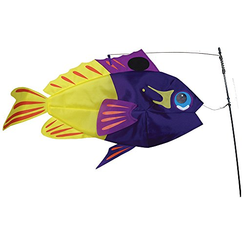 Premier Kite PK26504 Girouette Poisson, Multicolore, 63,5 x 12 x 110 cm