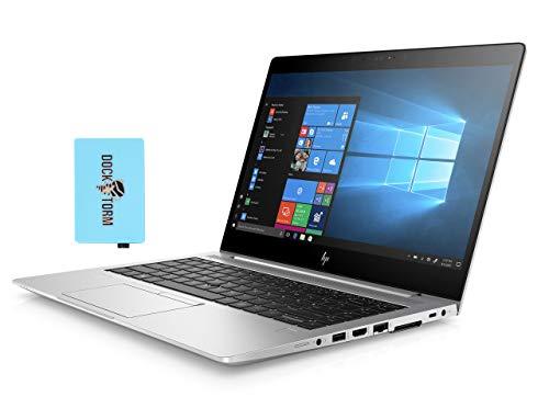 HP EliteBook 840 G5 Home and Business Laptop (Intel i5-8350U 4-Core, 64GB RAM, 2TB PCIe SSD, Intel UHD 620, 14.0' Full HD (1920x1080), Fingerprint, WiFi, Bluetooth, Webcam, Win 10 Pro) with Hub