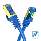 CAT8 Ethernet Cable 1FT 1 Pack Veetop 40Gbps 2000Mhz High Speed Gigabit SFTP LAN Network Internet Cables with RJ45 Gold Plated Connector for Router, Modem, Gaming, Xbox
