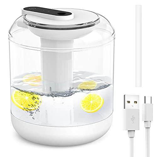 Luftbefeuchter Ultraschall Leise 1000 ml Luftbefeuchter für Schlafzimmer, automatische Abschaltung Top-Füllung Humidifier mit Nachtlicht für baby Schlafzimmer, Kinderzimmer, Büro