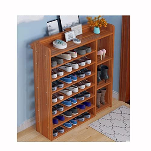 QIFFIY Zapatero de varias capas, simple, de alquiler para el hogar, ahorra espacio, práctico zapatero (color: C)