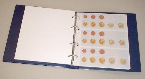 Prophila Euro Coin Sheets Ring Album