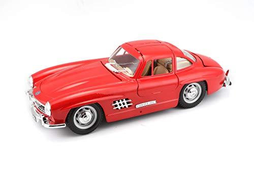 BBurago Maisto France - 22023 - Véhicule miniature - Mercedes Benz 300 SL - Échelle 1/24 - Couleur aléatoire