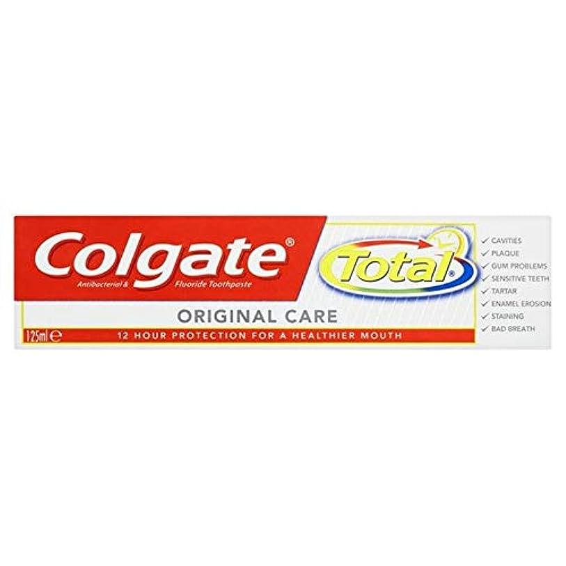不毛の担当者協力[Colgate ] コルゲートトータル高度な歯磨き粉の125ミリリットル - Colgate Total Advanced Toothpaste 125ml [並行輸入品]