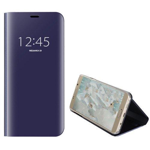 Funda® Espejo Enchapado Flip Samsung Galaxy A6 Plus 2018 (Púrpura ...