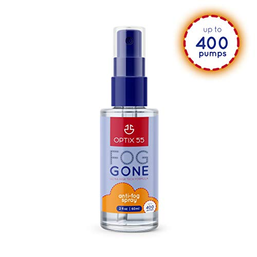 Best anti fog spray - Anti-Fog Spray | Prevents Fogging of Glass or Plastic Windows, Mirrors, Eyewear Lenses, Glasses, Swim Goggles, Ski Masks, Binoculars & Scopes | Streak Free, Long Lasting Solution | 2-fl oz, 60ml