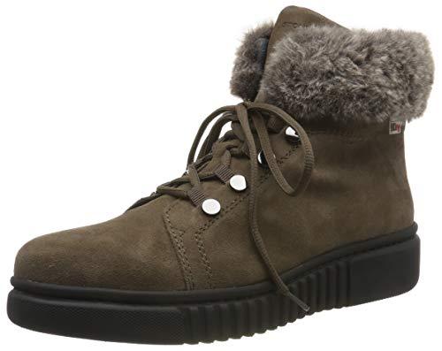Stonefly Damskie buty Dixie Hdry welur/Sint. Futrzane śniegowce, Brown Walnut Brown 308-35.5 EU