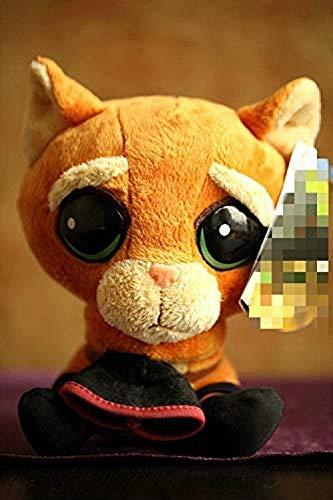 DINGX Gefüllte Plüschspielzeug Magische Katze Puss in Stiefel Nette große Katze Plüsch Monster Spielzeug Chuangze