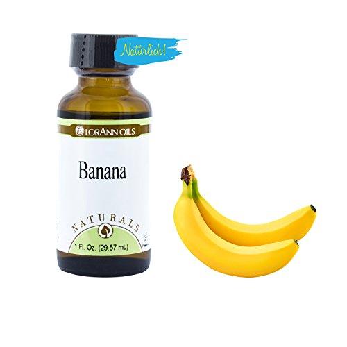LorAnn 1 Backaroma Banane, natürlich, 29,5 ml