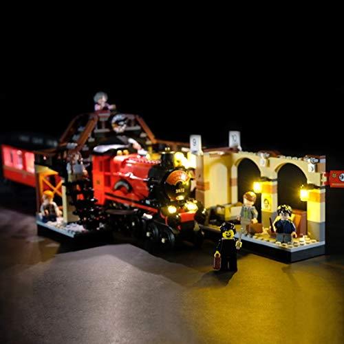 TETAKE Licht Beleuchtung LED Beleuchtungsset mit Fernbedienung für Lego Harry Potter 75955 - Hogwarts Express (Nicht Enthalten Lego Modell)