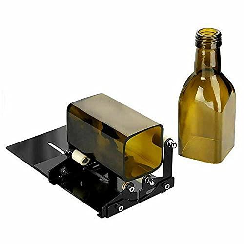 ATIN Cortador de botellas de vidrio Máquina de corte Set de herramientas Jar Beer Wine Recycle DIY Craft