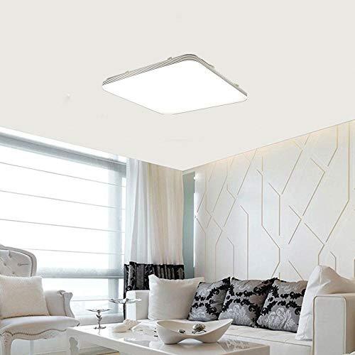 Yzibei Schijnwerper voor buiten, 18 W, vierkant ledlicht van het plafond onderaan bekledings-wand-keuken badkamerlamp