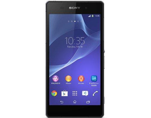 Sony Xperia Z2 Smartphone, entsperrt, 4G, Display: 5,2 Zoll, 16 GB, einfache SIM, Android, Schwarz