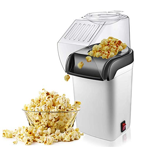 Why Choose JIASHU Hot Air Popcorn Popper, Electric Popcorn Machine, with Measuring Cup, BPA-Free, Lo...
