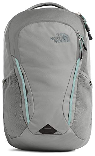The North Face Women's Vault Backpack, Zinc Grey/Windmill Blue, One Size