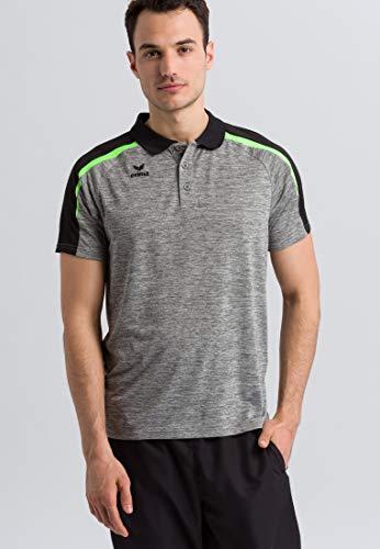 Erima Erwachsene LIGA 2.0 Poloshirt, grau melange/Sc, M