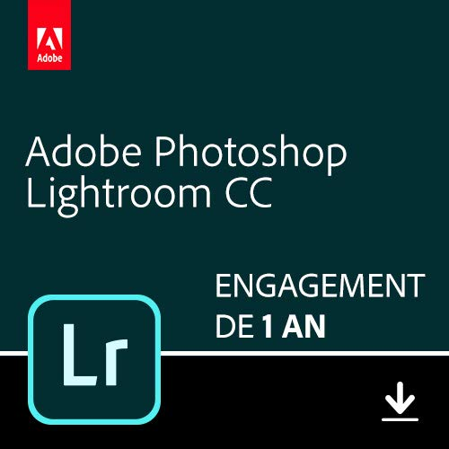 Adobe Lightroom 1TB | 1 an | PC/Mac | Téléchargement