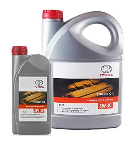 Originele 6 liter motorolie TOYOTA 5W30 PFE synthetisch 08880-83389 Acea C2