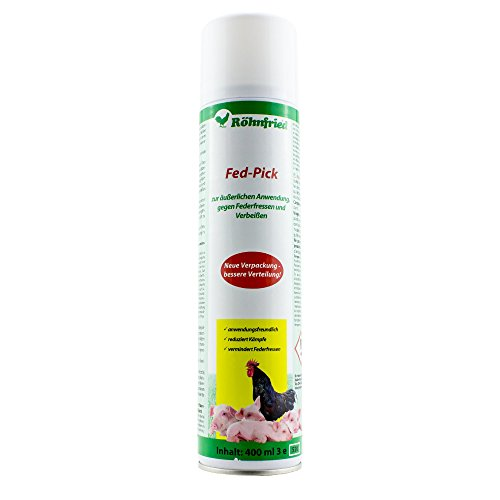 Röhnfried Fed-Pick-Sprühflasche gegen Federfressen (400 ml)