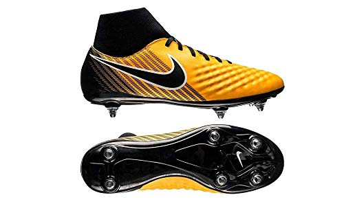 Nike Magista Onda II DF SG–Scarpe da Calcio, Uomo, Arancione–(Laser Orange/Black-White-Volt)