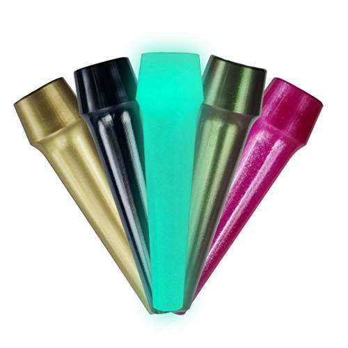 Boquilla para shisha de alta calidad, 100 unidades, fabricada en Alemania, sin sustancias nocivas, boquilla higiénica (mezcla de color)