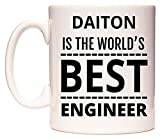 DAITON Is The World's BEST Engineer Taza por WeDoMugs®