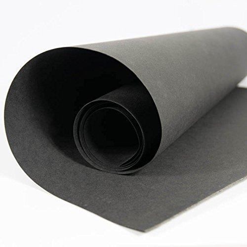 SnapPap schwarz - Papier in Lederoptik Kreativpapier Waschbares Papier