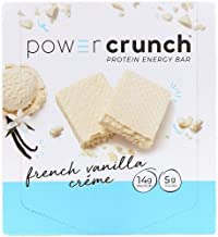 Power Crunch Protein Energy Bar Orignal, French Vanilla Creme, 1.4-Ounce Bar (12 Count)
